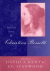 Selected Prose - Christina Rossetti, P.G. Stanwood, David A. Kent