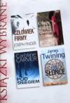 Człowiek firmy; Oficer ślubny; Pod śniegiem; Czarne słońce - Joseph Finder, Anthony Capella, Caroline Carver, James Twining