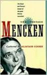 The Vintage Mencken - H.L. Mencken, Alistair Cooke