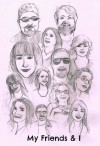 My Friends and I - Laura Jamez, Ruth Long, M.L. Gammella, Sarah Aisling, Lillie McFerrin, Jenn Monty, Jeff Tsuruoka, Lisa Shambrook, Lizzie Kooch, Samantha Redstreake Geary, Nick Johns, Jeff Hollar, Bradley Richter