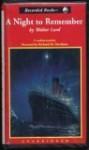 A Night to Remember - Walter Lord, Richard M. Davidson