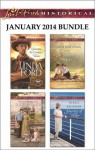 Love Inspired Historical January 2014 Bundle: Claiming the Cowboy's HeartLone Wolf's LadyThe Wyoming HeirJourney of Hope - Linda Ford, Judy Duarte, Naomi Rawlings, Debbie Kaufman