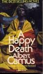 A Happy Death - Richard Howard, Albert Camus