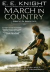 March in Country: A Novel of the Vampire Earth - E.E. Knight