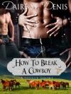 How To Break A Cowboy - Daire St. Denis