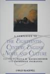 A Companion to the Eighteenth-Century English Novel and Culture - Paula R. Backscheider, Catherine Ingrassia