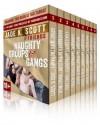 Naughty Groups & Gangs - Jade K. Scott, Angel Wild, Carl East, Cheri Verset, Polly J. Adams
