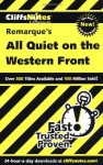 CliffsNotes on Remarque's All Quiet on the Western Front (Cliffsnotes Literature Guides) - Susan VanKirk, CliffsNotes, Erich Maria Remarque