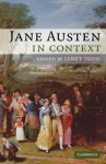 Jane Austen in Context - Janet Todd