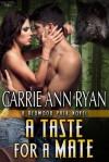 A Taste for a Mate - Carrie Ann Ryan