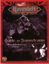 A Guide To Transylvania (Ad&D Horror Roleplaying, Ravenloft) - Nicky Rea