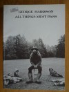 George Harrison, All Things Must Pass: Songbook for all Guitars, Easy Guitar Arrangements and Special Guitar Combo Arrangements - George Harrison