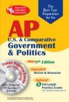 AP Government & Politics w/CD-ROM (REA) - The Best Test Prep: 8th Edition (Test Preps) - R.F. Gorman, J. Hamilton, S.J. Hammond, S. J. Hammond, E. Kalner, W. Phelan, G.G. Watson, Keith Mitchell