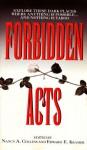Forbidden Acts - Nancy A. Collins, Edward F. Kramer