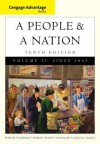 Cengage Advantage Books: A People and a Nation: A History of the United States, Volume II: Since 1865 - Mary Beth Norton, Carol Sheriff, David W Blight, Howard Chudacoff