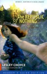The Republic of Nothing - Lesley Choyce, Neil Peart