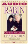 Rabin: Our Life, His Legacy Cassette: Our Life, His Legacy - Leah Rabin, Claire Bloom