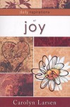 Daily inspirations of joy - Carolyn Larsen