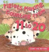Piglets Playing: Counting from 11 to 20 - Megan Atwood, Sharon Holm, Paula J. Maida