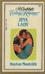 Jinx Lady (Candlelight Ecstasy, #95) - Hayton Monteith