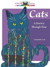 Cats: A Journey Through Time, Coloring for the Curious (Coloring Book) - Samantha Cole
