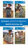 Harlequin American Romance March 2016 Box Set: Count on a CowboyHome on the RanchHis Rodeo SweetheartThe Bull Rider Meets His Match - Patricia Thayer, Trish Milburn, Pamela Britton, Jeannie Watt