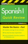 Cliffsnotes Spanish I Quickreview - CliffsNotes, Jill Rodriguez