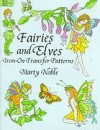 Fairies and Elves Iron-on Transfer Patterns - Marty Noble
