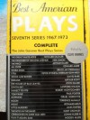 BEST AMERICAN PLAYS 7TH SERIES (The John Gassner Best Plays Series) - John Gassner