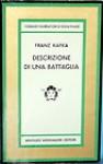 Descrizione di una battaglia e altri racconti - Franz Kafka, Rodolfo Paoli, Ervino Pocar