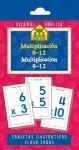 Multiplication 0-12 Flash Cards - Bilingual - School Zone Publishing Company