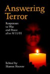 Answering Terror: Responses to War and Peace After 9/11/01 - Sharon Hoover