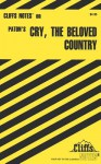 Cliffsnotes on Paton's Cry, the Beloved Country - Richard O. Peterson, Eva Fitzwater, Alan Paton