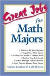 Great Jobs for Math Majors - Stephen Lambert, Ruth DeCotis