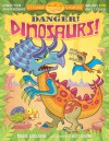 Put 'Em Together Sticker Stories: Danger! Dinosaurs! - Mark Shulman, Gary LaCoste