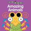 Funny Fingers: Amazing Animals - Mark Shulman, Jenny B Harris
