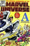 The Official Handbook of the Marvel Universe Volume 1 - Jim Shooter, Peter Sanderson
