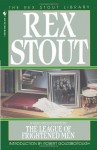 The League of Frightened Men (Nero Wolfe Mysteries) - Rex Stout