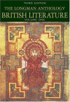 The Longman Anthology of British Literature, Volume 1 - David Damrosch, Christopher Baswell, Clare Carroll, Kevin J. H. Dettmar, Heather Henderson, Constance Jordan, Peter J. Manning, Anne Howland Schotter, William Chapman Sharpe, Stuart Sherman, Jennifer Wicke, Susan J. Wolfson