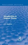 Introduction to Logical Theory (Routledge Revivals) - P.F. Strawson