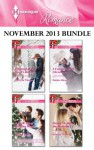 Harlequin Romance November 2013 Bundle: Proposal at the Lazy S RanchA Little Bit of Holiday MagicA Cadence Creek ChristmasMarry Me under the Mistletoe - Patricia Thayer, Melissa McClone, Donna Alward, Rebecca Winters