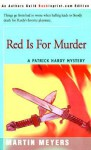 Red Is For Murder - Martin Meyers