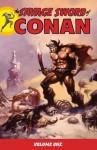 The Savage Sword of Conan, Volume 1 - Roy Thomas, Barry Windsor-Smith, John Buscema, Alfredo Alcala