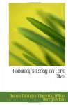 Macaulay's Essay on Lord Clive; - Thomas Babington Macaulay, William Henry Hudson