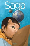 Saga Book One: Deluxe Edition - Fiona Staples, Brian K. Vaughan