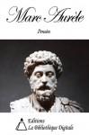 Marc-Aurèle - Pensées pour moi-même (French Edition) - Marc-Aurèle, Ernest Renan, Gaston Boissier, Auguste Couat, Jules Barthelemy-Saint-Hilaire