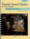 Favorite Sacred Classics for Solo Singers: Medium High Voice, Comb Bound Book - Patrick M. Liebergen