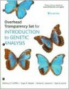 Overhead Transparency Set for Introduction to Genetic Analysis - Anthony J.F. Griffiths, Sean B. Carroll