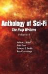 "Anthology of Sci-Fi V8, Pulp Writers - Ray Cummings, Arthur J. Burks, Paul Ernst, E.E. ""Doc"" Smith"
