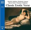 Classic Erotic Verse D - Various, Christopher Marlowe, John Wilmot, Ben Jonson, George Gordon Byron, John Keats, Alfred Tennyson, John Betjeman, E.E. Cummings, Robert Herrick